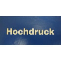 """B1c Bezeichnungskleber """"Hochdruck""""_8349"""
