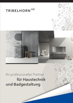 Firmenbroschüre Tribelhorn AG